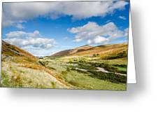 College Valley Greeting Card