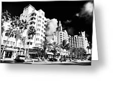 Collins Avenue Greeting Card