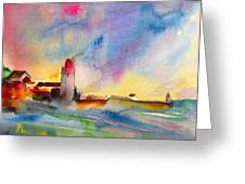 Collioure Impression 01 Greeting Card