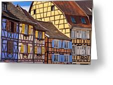 Colmar Alsace Greeting Card