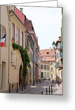 Colmar Small Street Greeting Card