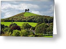 Colmers Hill At Symondsbury Greeting Card