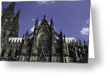 Cologne Cathedral 03 Greeting Card