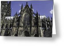 Cologne Cathedral 04 Greeting Card