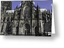 Cologne Cathedral 05 Greeting Card
