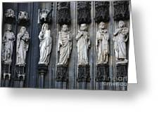 Cologne Cathedral Statuary Greeting Card