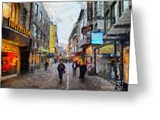 Cologne Stroll Greeting Card