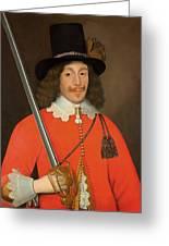Colonel John Hutchinson, C.1643 Greeting Card