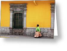 Colonial Puno Greeting Card