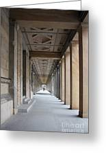 Colonnade Neues Museum Berlin Greeting Card