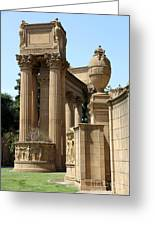 Colonnades Palaces Of Fine Arts Greeting Card