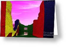 Color At Quarai  Greeting Card
