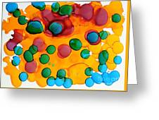 Color Bubbles Greeting Card