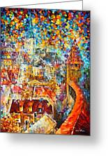 Color Castle Greeting Card