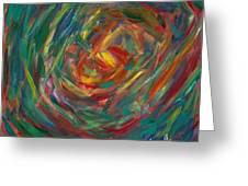 Color Circle Greeting Card
