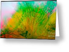 Color Formations II Greeting Card