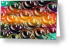 Color Frenzy 2 Greeting Card