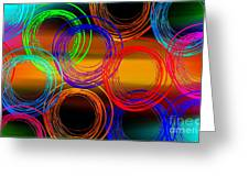 Color Frenzy 3 Greeting Card