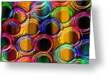 Color Frenzy 5 Greeting Card
