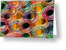Color Frenzy 6 Greeting Card