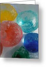 Color In Ice Series 15 Greeting Card