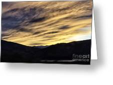 Color In The Sky Greeting Card