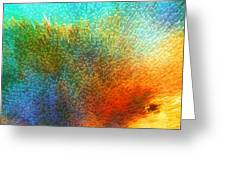 Color Infinity - Abstract Art By Sharon Cummings Greeting Card by Sharon Cummings