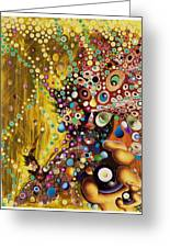 Color Intoxication Remix Greeting Card