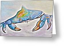 Color Me Blue . . . And Speckled Too Greeting Card