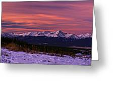 Color Of Dawn Greeting Card