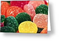 Color Of Flavor Greeting Card
