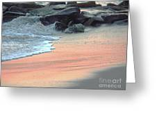 Color Of Sand Cape May Nj Greeting Card