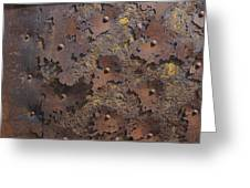 Color Of Steel 2 Greeting Card