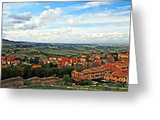 Color Of Tuscany Greeting Card