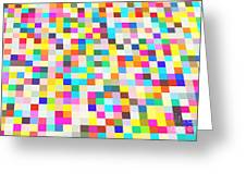 Color Quilt Greeting Card