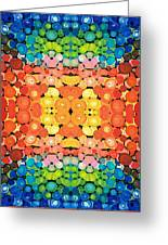 Color Revival - Abstract Art By Sharon Cummings Greeting Card