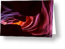 Color Ribbons Greeting Card by Chad Dutson