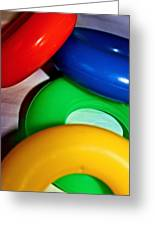 Color Rings Greeting Card