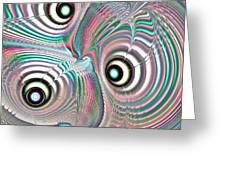 Color Waves Greeting Card