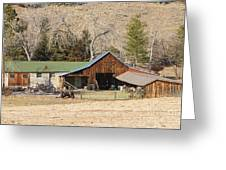 Colorado Barn Greeting Card