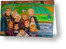 Colorado Baseball Family Greeting Card by Michael Litvack