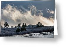 Colorado Clouds Greeting Card