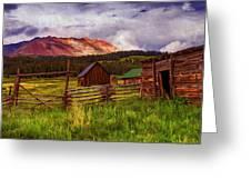 Colorado Dreamin' Greeting Card