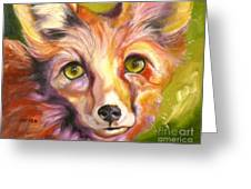 Colorado Fox Greeting Card