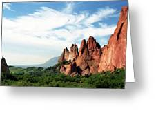 Colorado - Garden Of The Gods Greeting Card