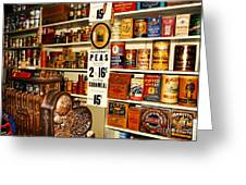 Colorado General Store Supplies Greeting Card