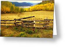 Colorado Gold 2 Greeting Card