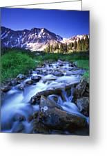 Colorado High Country Greeting Card