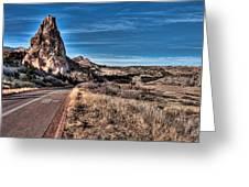 Colorado Highway Greeting Card