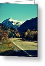Colorado Hwy Greeting Card